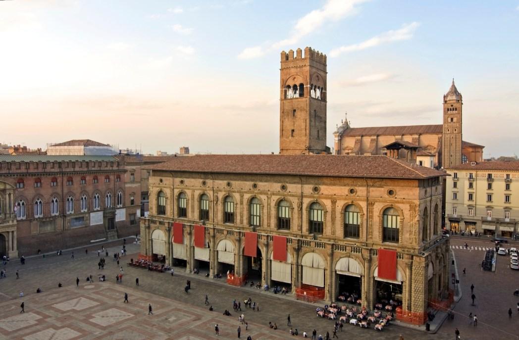 Piazza Maggiore, veduta