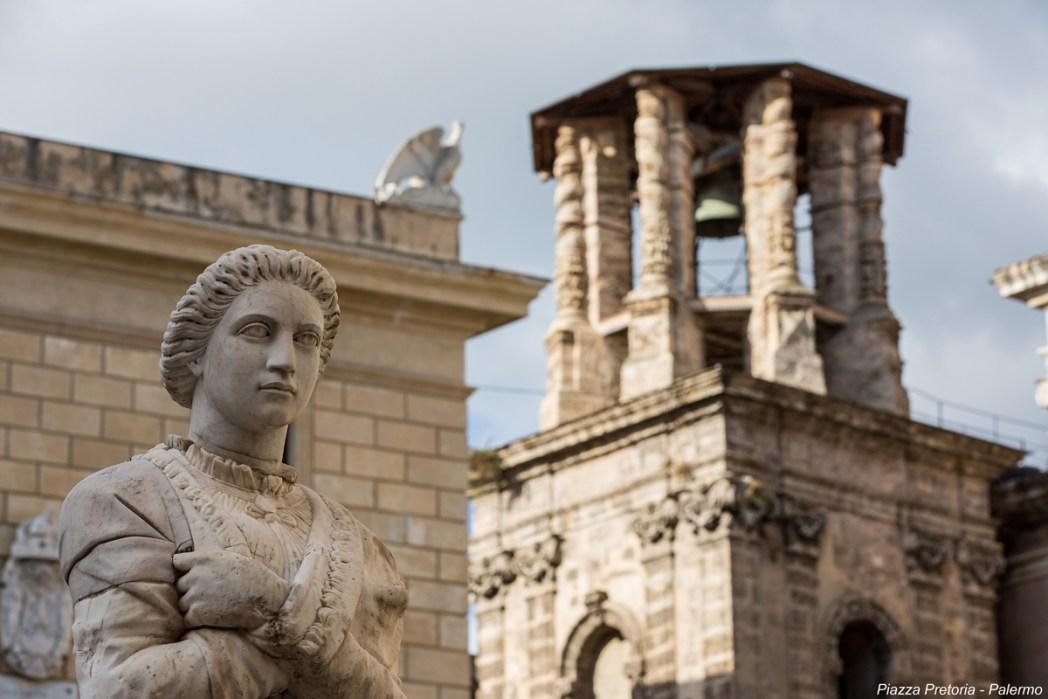 Quartieri di Palermo: Piazza Pretoria