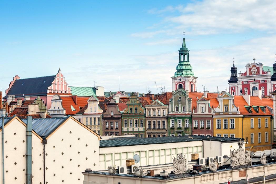 Poznan, veduta della città
