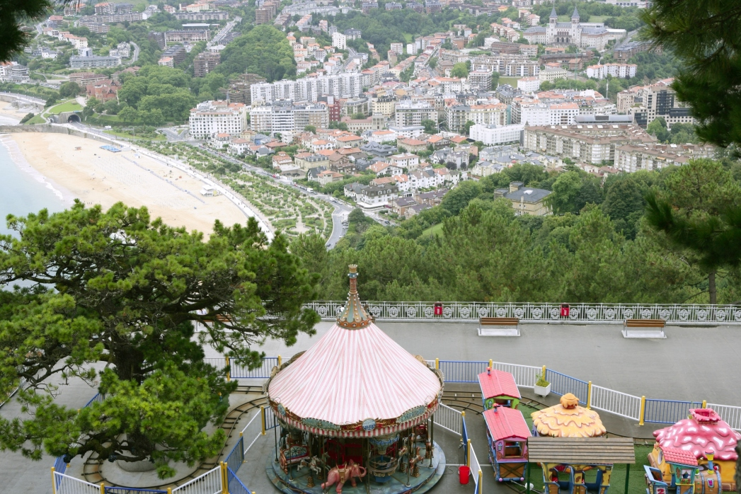 La vista dal Monte Igueldo