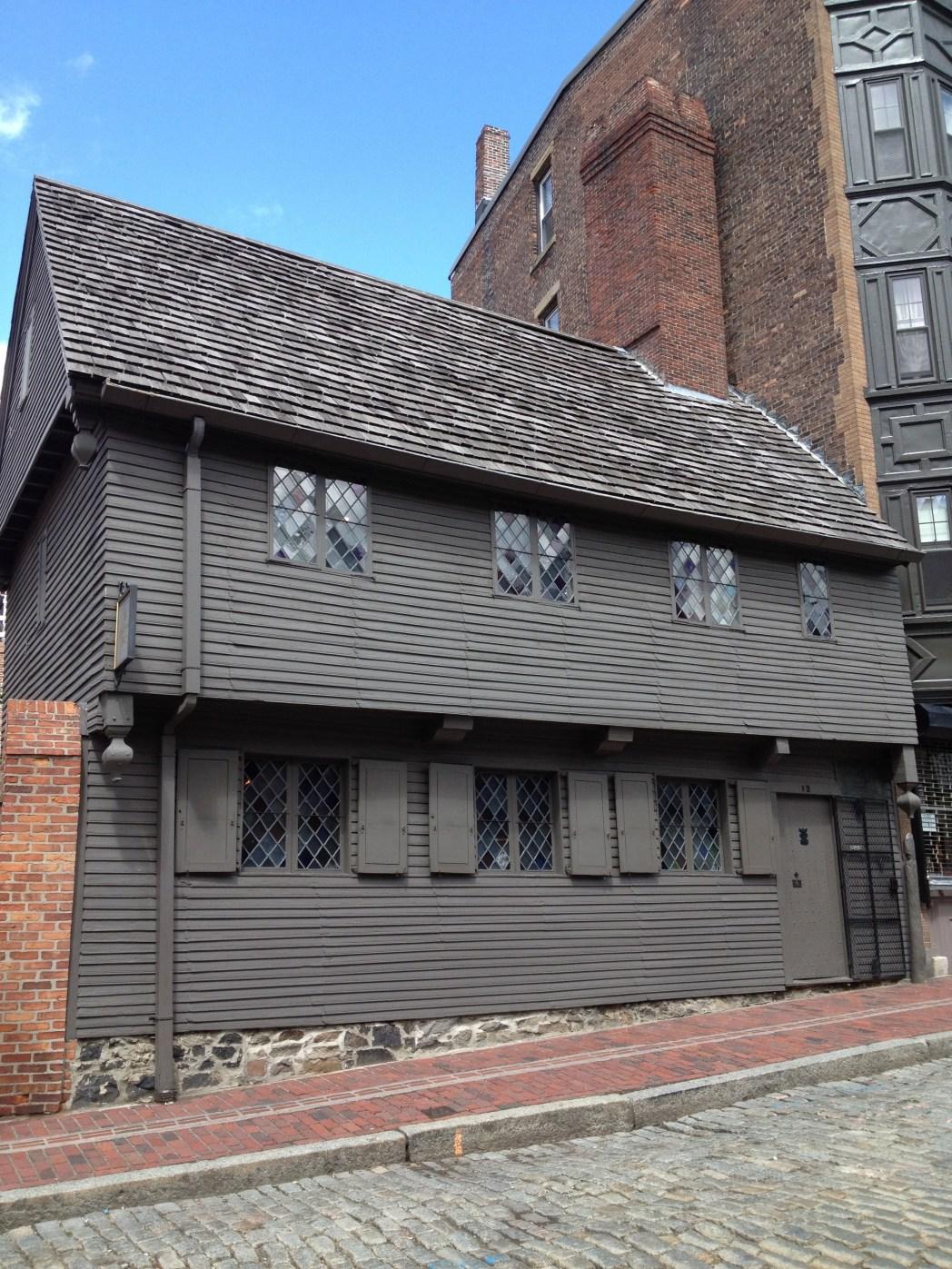 Boston cosa vedere: casa di Paul Revere