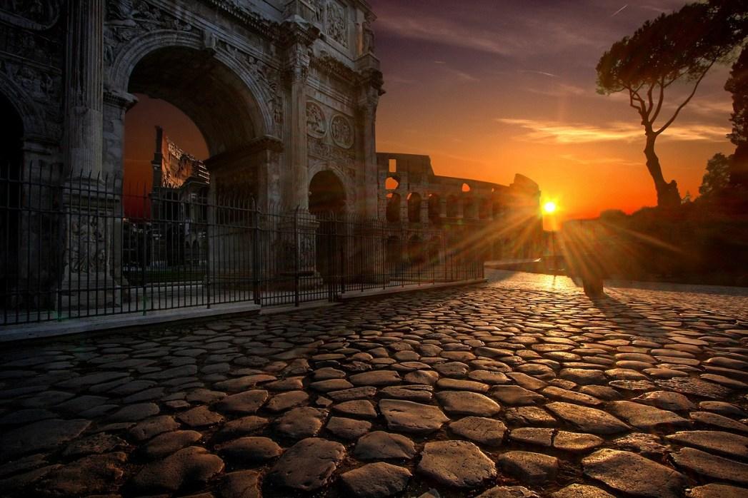 I 20 tramonti più belli d'Europa: Roma