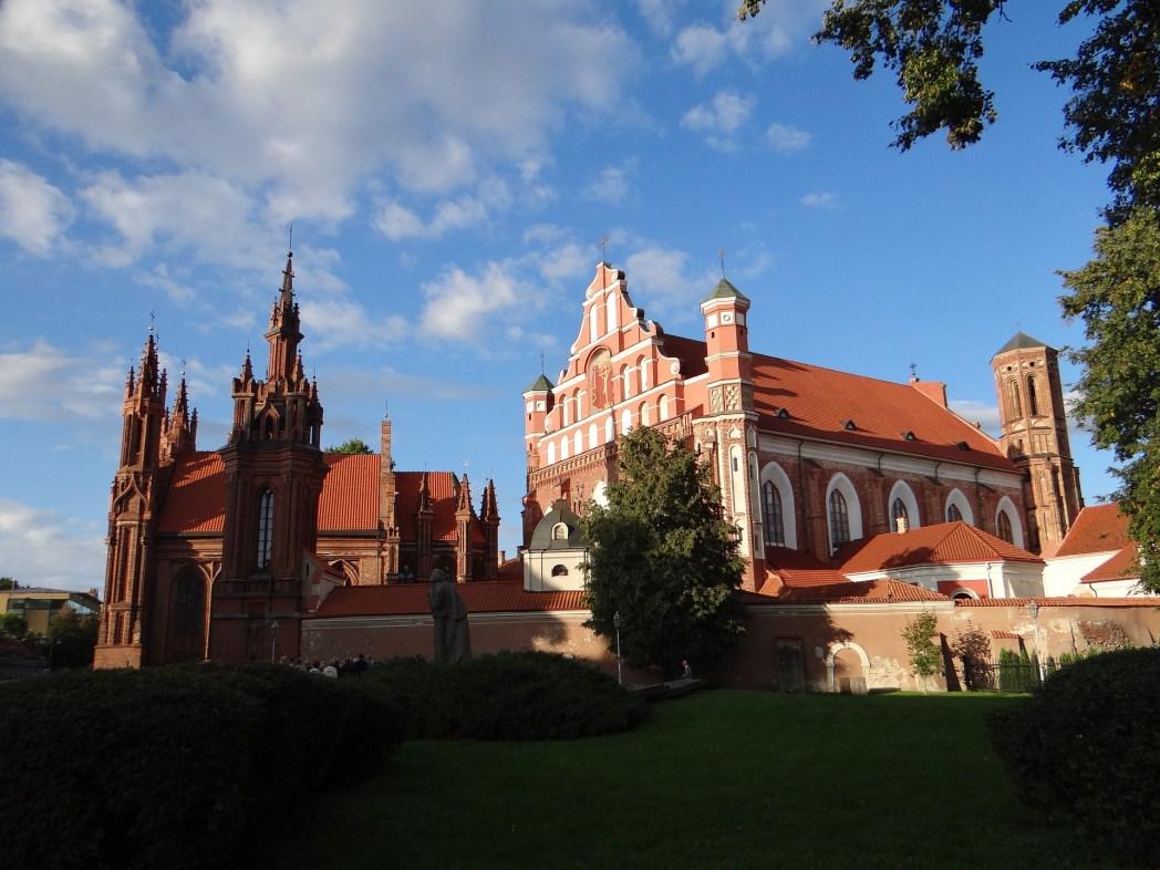 Vilnius- Chiesa di S.Anna