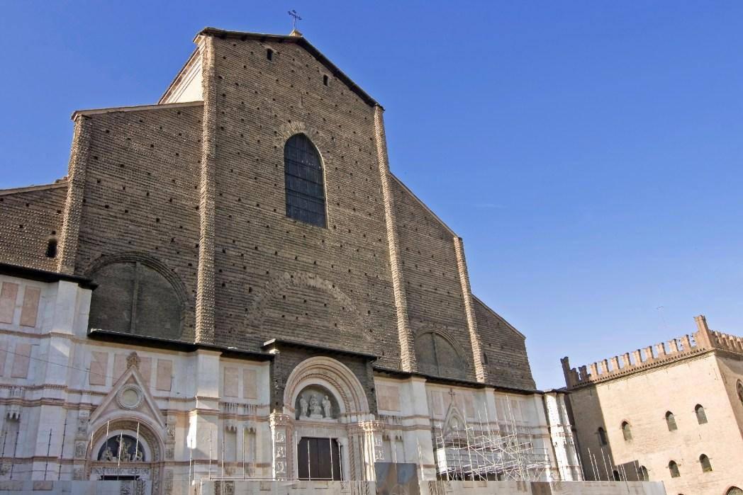 La splendida Basilica di San Petronio