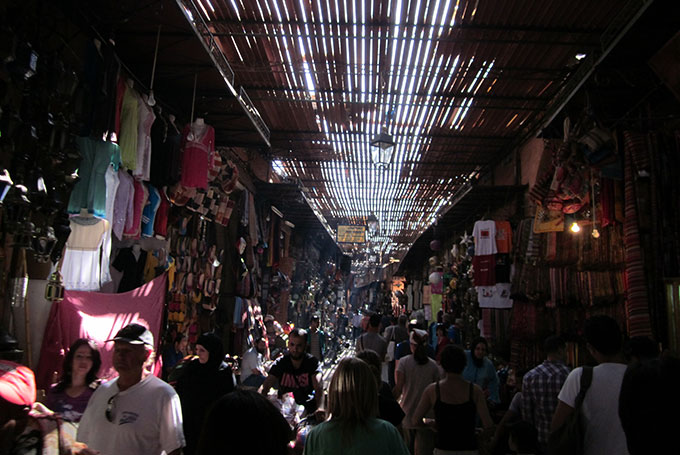 Souk, Marrakech © Lewis Packwood