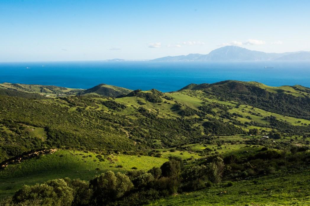 Tarifa e la vista delle coste marocchine