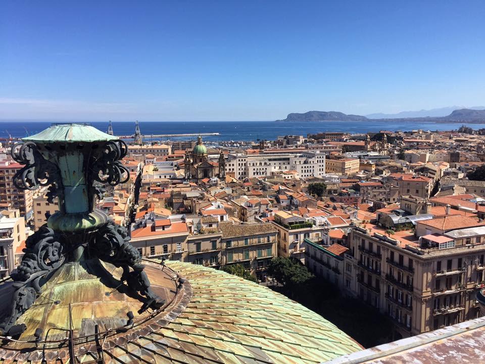 Quartieri di Palermo: Vista dalla terrazza del Teatro Massimo