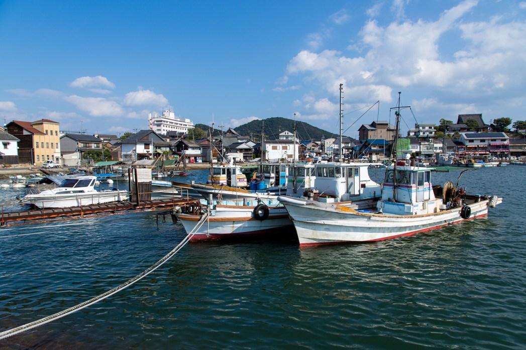Viaggio in Giappone: Tomonoura, Honshū Occidentale