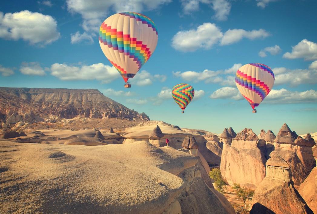 Turchia, in volo sulla Cappadocia