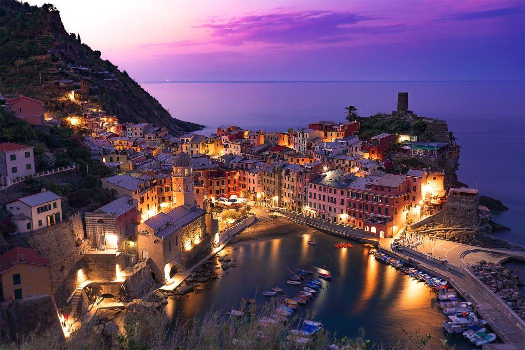 I 20 tramonti più belli d'Europa: Vernazza