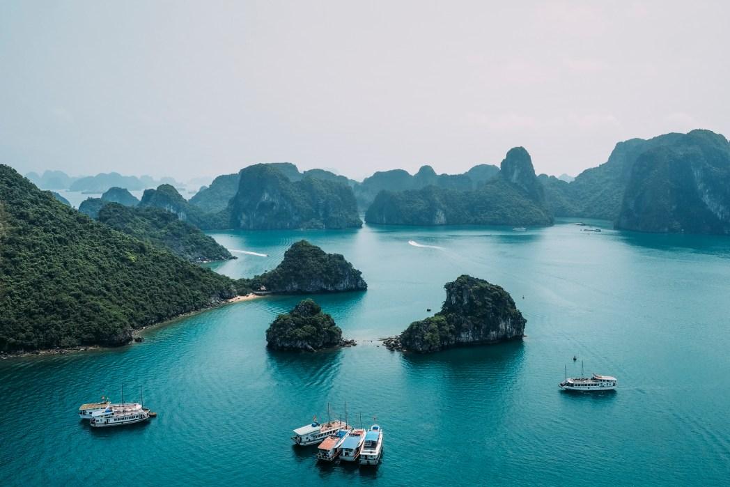 Vietnam, paesaggio