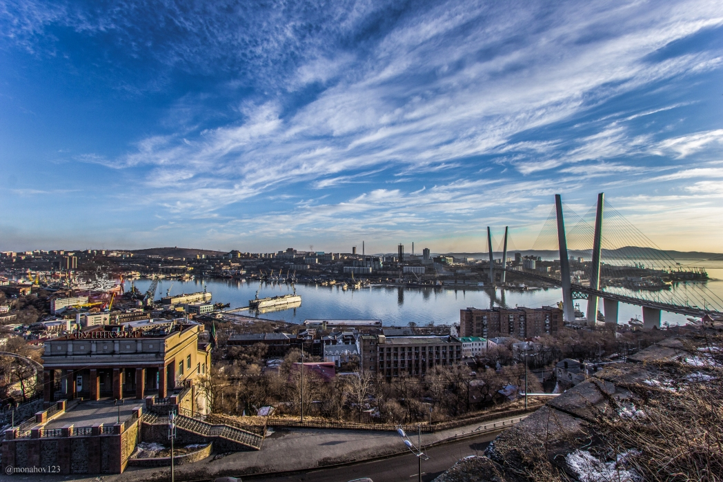 Città più belle della Russia: Vladivostok